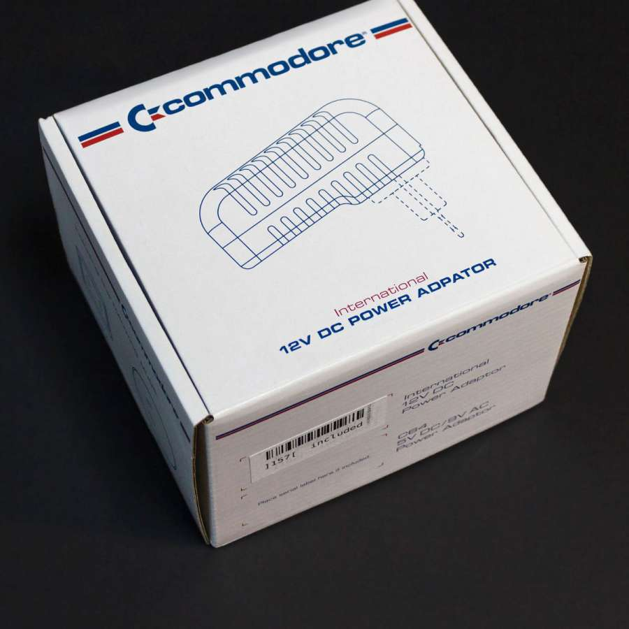 Commodore PSU box